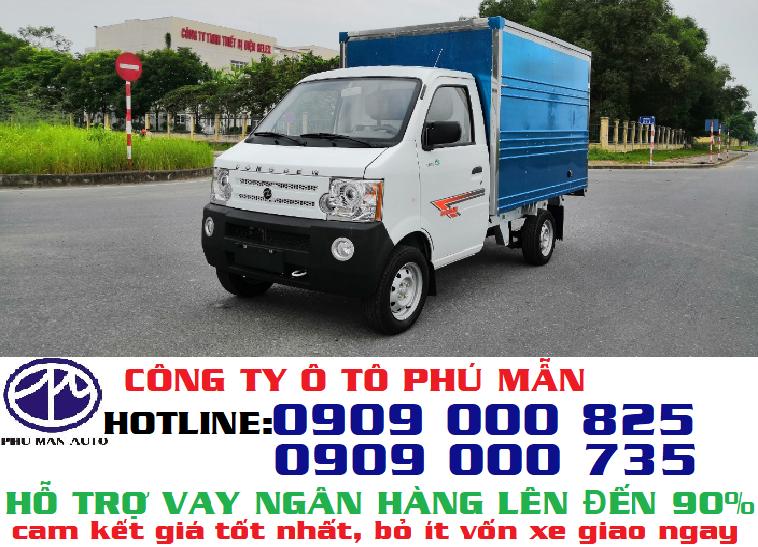 Xe tải Dongben mới dưới 1 tấn, xe tải cỡ nhỏ giá rẻ nhất