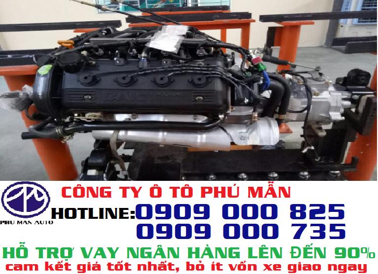 Xe tải kenbo van 950kg| Xe tải van euro 4, 2 chổ, 5 chỗ ngồi