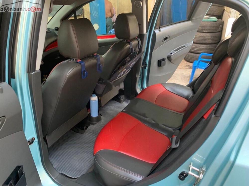 Bán Chevrolet Spark LTZ sản xuất năm 2014, màu xanh