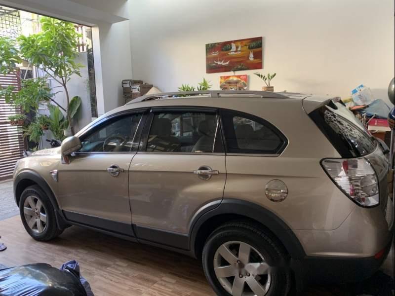 Bán xe Captiva 11/2009 màu vàng cát, nội thất ngoại thất còn như mới