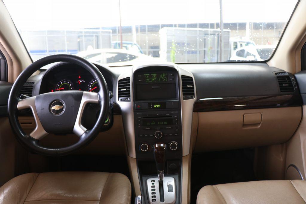 Cần bán xe Chevrolet Captiva LTZ 2.4AT đời 2011, màu bạc