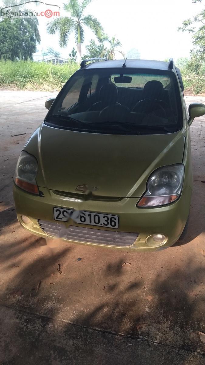 Cần bán xe Chevrolet Spark LS 0.8 MT đời 2009, màu vàng