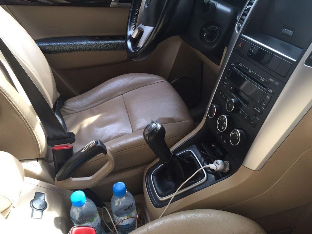 Cần bán gấp Chevrolet Captiva sản xuất 2012, màu đen
