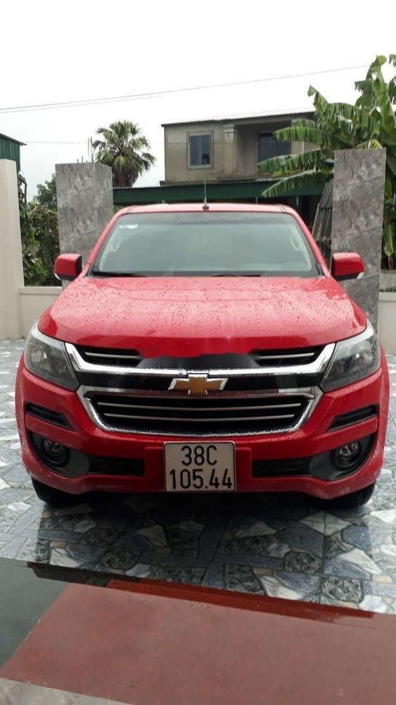 Bán Chevrolet Colorado đời 2017, màu đỏ, nhập khẩu nguyên chiếc số sàn