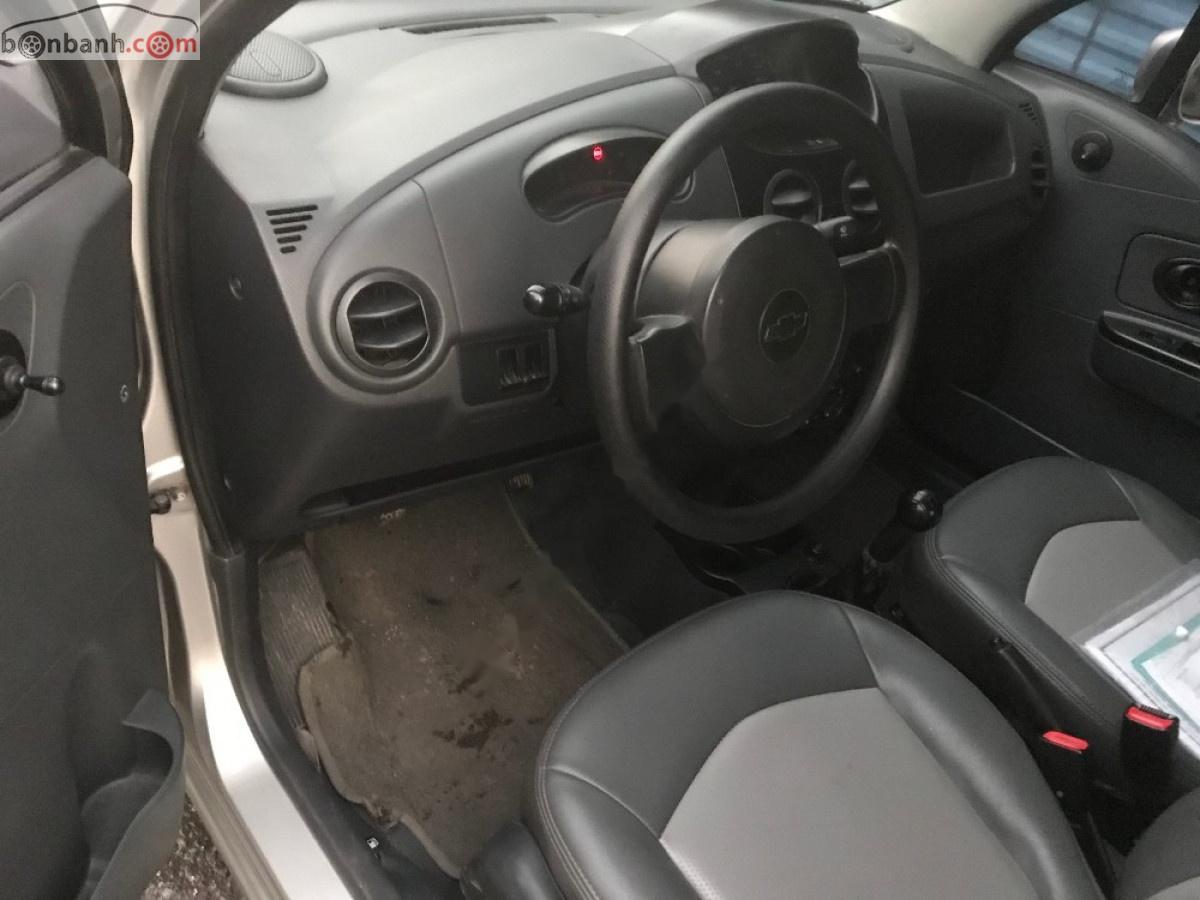 Bán Chevrolet Spark Van năm 2011, màu bạc chính chủ, giá tốt