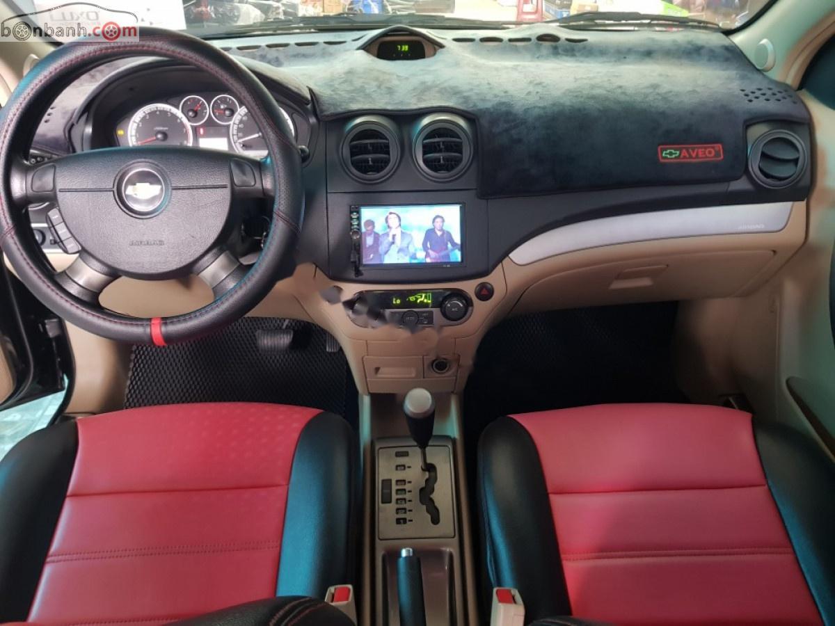 Bán xe Chevrolet Aveo LTZ sản xuất 2014, màu đen còn mới