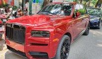 """SUV siêu sang Rolls-Royce Cullinan """"độ"""" của Đại gia Hà Nội rất ấn tượng"""