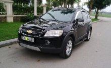 Bán Chevrolet Captiva 2.4LT đời 2007, màu đen, nhập khẩu, số sàn giá 375 triệu tại Hà Nội