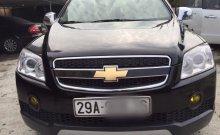 Cần bán xe cũ Chevrolet Captiva 2.4LT đời 2007, màu đen giá 345 triệu tại Hà Nội