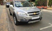 Cần bán xe Chevrolet Captiva LT số sàn 2010, màu bạc giá 365 triệu tại Tp.HCM