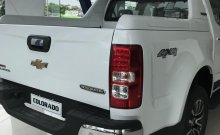Bán Chevrolet Colorado 2018, màu trắng, giảm tiền mặt 50 triệu, tặng phụ kiện, vay trả góp lãi suất thấp giá 594 triệu tại Hà Giang