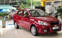 Bán Chevrolet Aveo sản xuất 2018, màu đỏ, giá 399tr giá 399 triệu tại Lâm Đồng