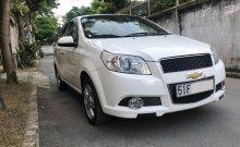 Em bán Chevrolet Aveo 2015 số sàn, màu trắng cọp giá 273 triệu tại Tp.HCM