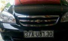 Bán Chevrolet Lacetti đời 2012, màu đen, xe ít đi giá 300 triệu tại Nghệ An