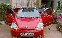 Bán Chevrolet Spark sản xuất năm 2009, màu đỏ, xe đẹp giá 102 triệu tại Thanh Hóa