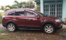 Bán ô tô Chevrolet Captiva sản xuất năm 2011, màu đỏ, nhập khẩu nguyên chiếc số sàn giá 350 triệu tại Tp.HCM