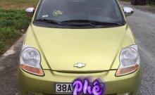 Bán Chevrolet Spark LT 0.8 MT đời 2009, màu vàng, số sàn giá 115 triệu tại Hà Tĩnh