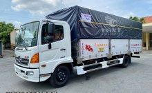 Xe tải Hino FC thùng bạt dài 5m6 giá ưu đãi hỗ trợ vay cao giá 860 triệu tại Bình Dương