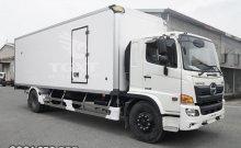 Xe tải Hino FG thùng bảo ôn dài 7m9 hỗ trợ vay cao giao nhanh giá 1 tỷ 280 tr tại Bình Dương
