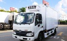 Xe tải Hino XZU650L thùng đông lạnh hỗ trợ vay cao giá 605 triệu tại Bình Dương