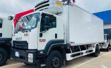 Xe đông lạnh Isuzu FVR34QE4 hỗ trợ ngân hàng vay 80% giá 1 tỷ 270 tr tại Bình Dương