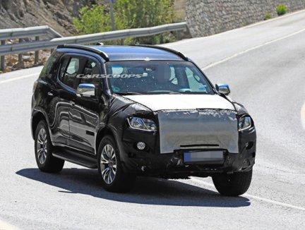 SUV 7 chỗ Chevrolet Trailblazer 2021 chuẩn bị quay trở lại Mỹ
